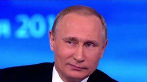 А Путин, а Путин… внеземную …