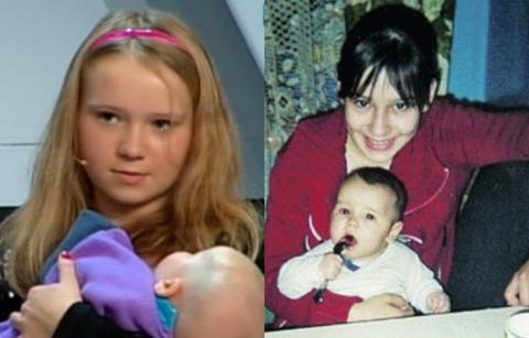 Самые молодые мамы России и …