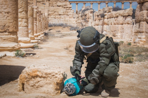 В Минобороны РФ рассказали, чем пользовались саперы при разминировании Алеппо
