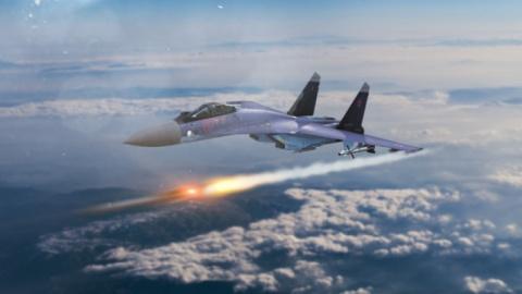 Колонна военной техники ИГ п…
