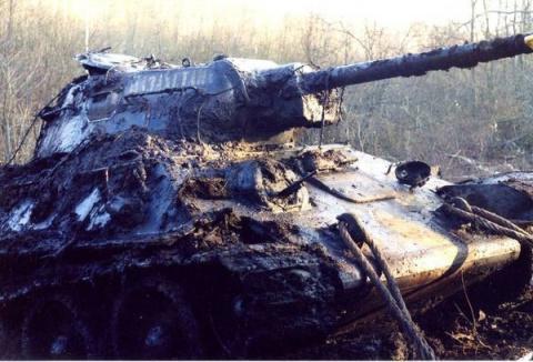 Танки войны! Найденные танки ВОВ