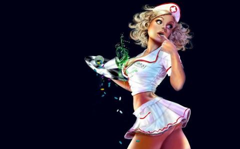 Застенчивая медсестра