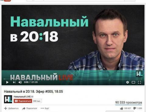 Навальный: смешной ответ Усм…
