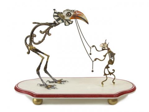 Причудливые скульптуры Джессики Джослин
