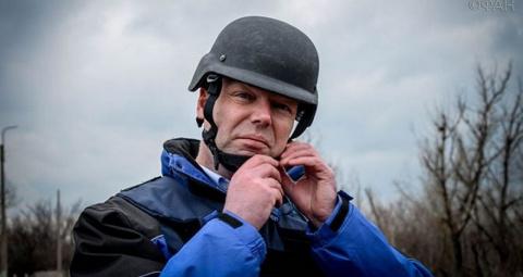 ОБСЕ под прицелом украинского террора. Евгений Радугин