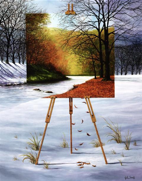Пресекая любые границы - художник Нил Симон