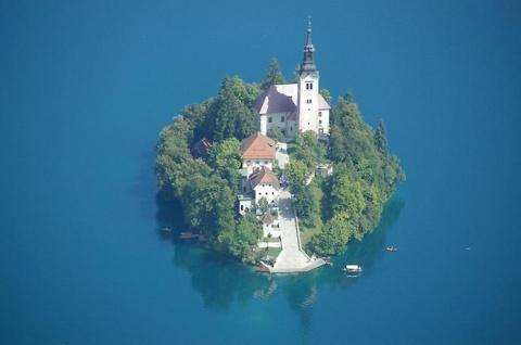 Остров Блед в Словении