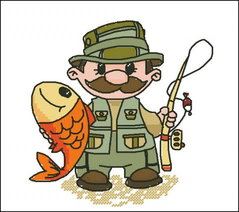 есть вот такой рыбачок,
