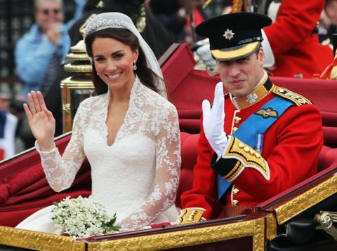 Свадебные королевские происшествия