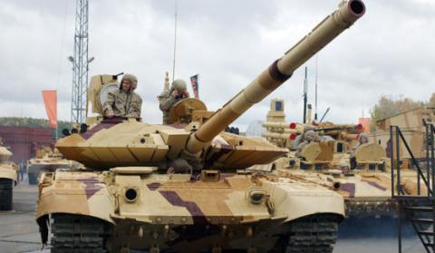 Не про авиацию, но интересно. Т-90С против «Меркавы»