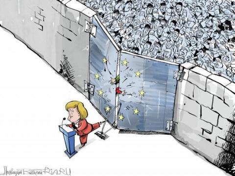Заварила кашу: Меркель не зн…