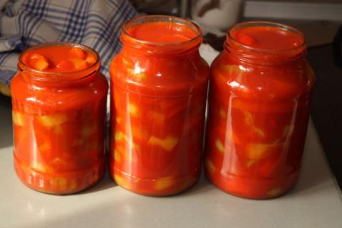 Заготовки на зиму - Баклажаны в аджике. Перец горький по-армянски. Лечо из перца. Маринованные голубцы с морковью по-корейски.