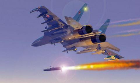 Три направления атаки ВКС РФ…