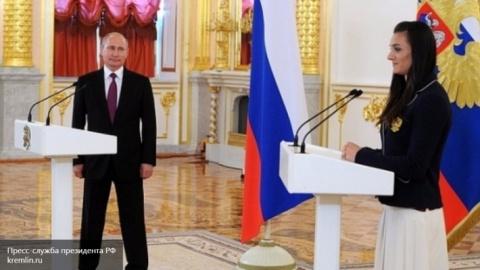 """Путин В.В. -""""Мы не злопамятные, просто у нас хорошая память"""" (Слёзы Исинбаевой. Видео)"""