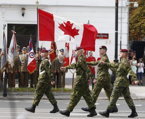 Канадская военная полиция начинает хозяйничать на Украине