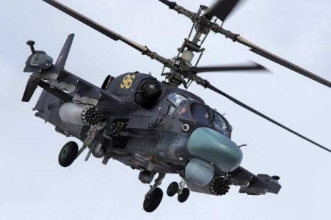 Российский «Аллигатор» Ка-52…