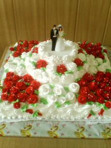 Свадебный торт!!