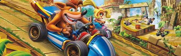 Crash Team Racing Nitro-Fueled - Демонстрация геймплея