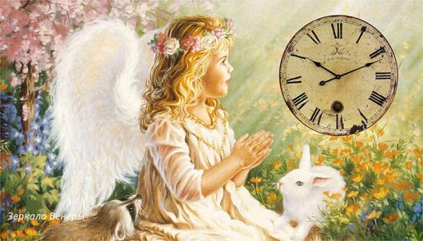 Часы Ангела на январь 2020 год.