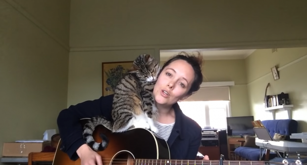 'Loverless' feat. George the cat