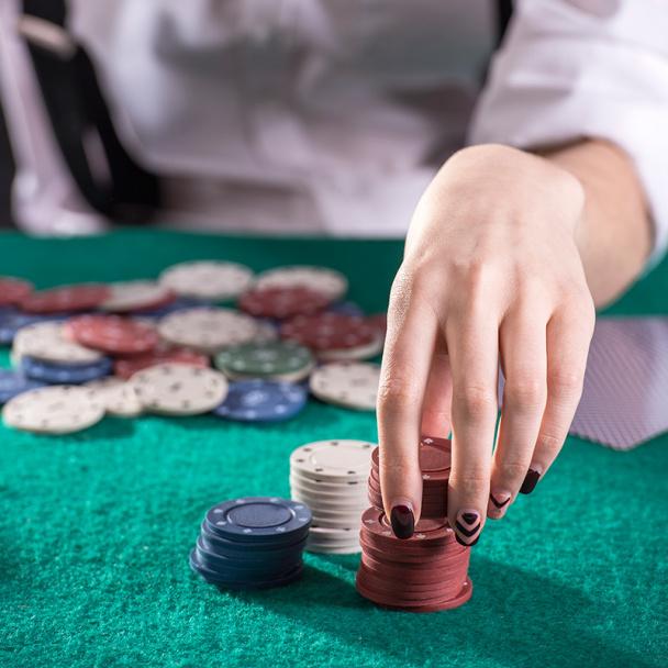 кучка фишек в казино сканворд