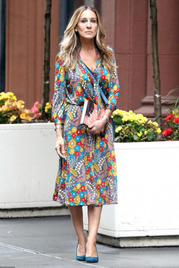 85852d9887c Сара Джессика Паркер и ее 10 цветочных платьев