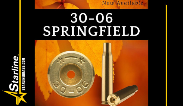 Гильзы Starline Brass 30-06 Springfield