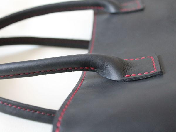 d67f5784c280 Изготовление объемных ручек из кожи для сумки