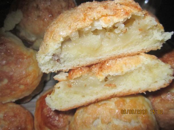 Сельское пирожное с яблоками