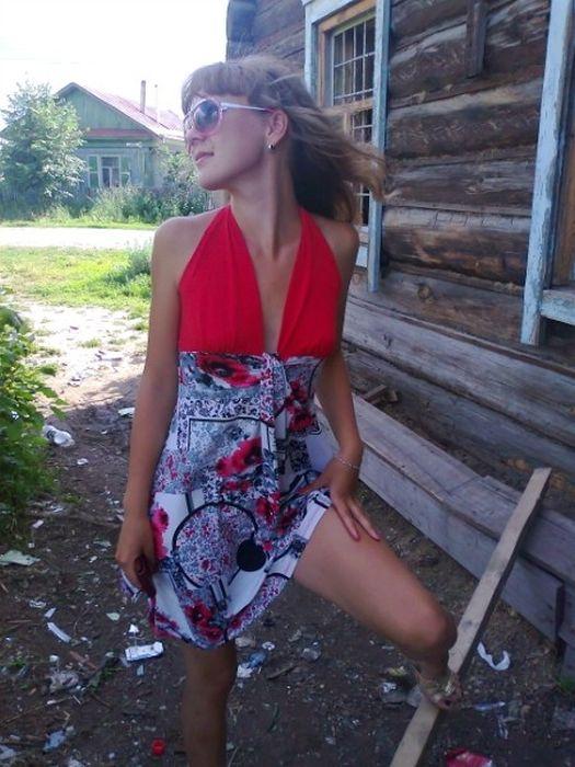 Деревенская девушка хочет познакомиться фото