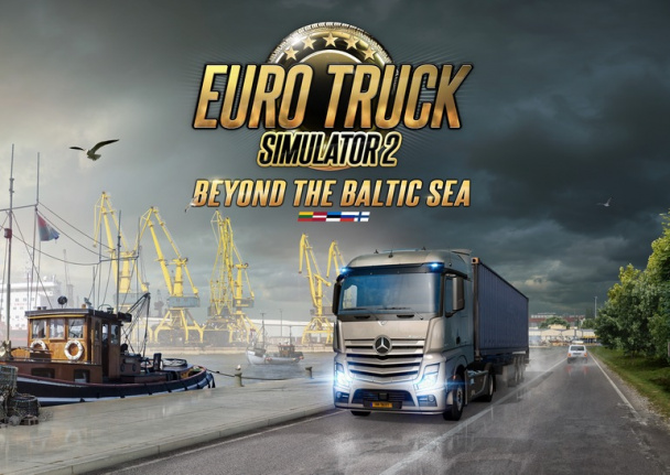 Euro Truck Simulator 2 – Beyond the Baltic Sea: вдоль моря и на север