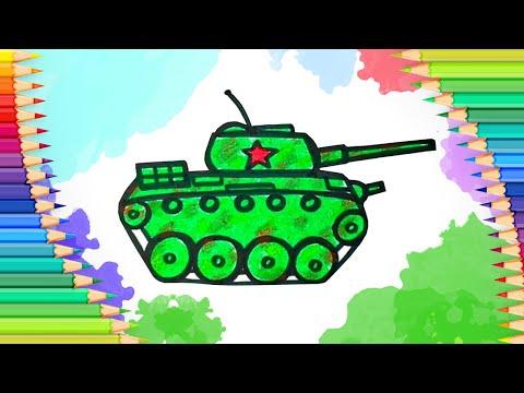 Как нарисовать танк на 23 фе…