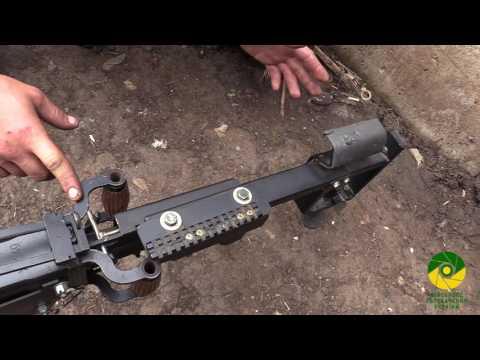 ВСУ «усовершенствовали» советский пулемет ДШК деталью от велосипеда
