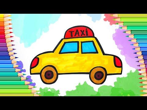 Как нарисовать такси l Прост…