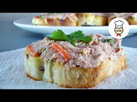 Бутерброды с тунцом