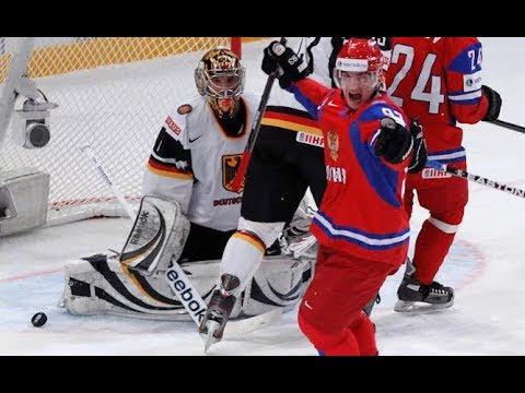 Россия - Германия хоккей пря…