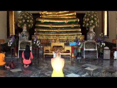 Бангкок - Ват По, храм лежащ…