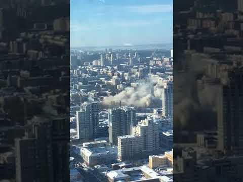 Эпичный взрыв телебашни в Ек…