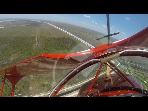 Пилоту удалось запустить отказавший двигатель в нескольких метрах от земли