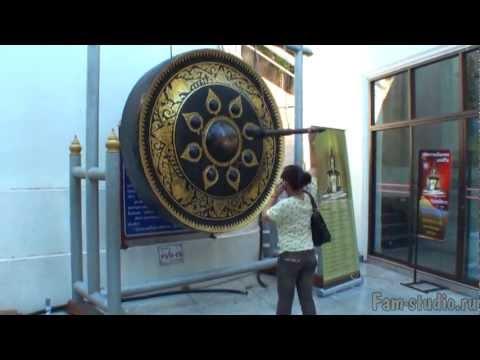 Бангкок - храм Золотой горы (клип)