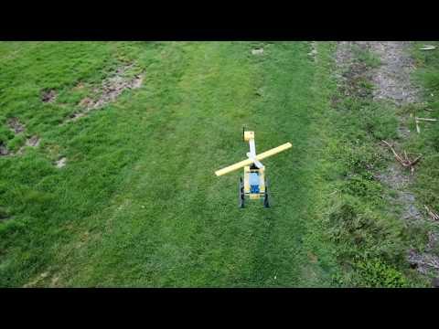 """Гигантский летающий """"LEGO-ве…"""