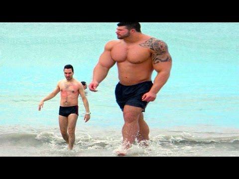 5 аномально больших мужчин. Реальные гиганты планеты