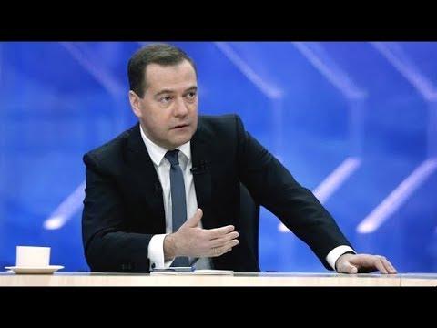 Д. Медведев подводит итоги года