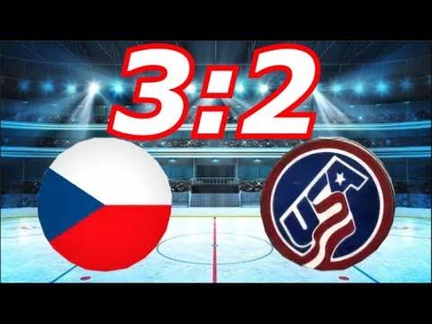 Чехия - Сша 3:2 Хоккей 2018,…