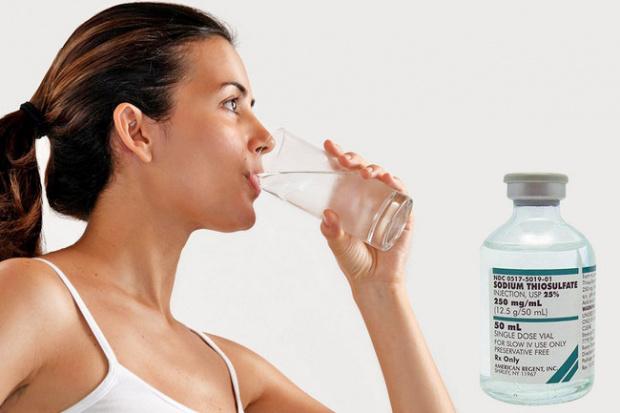 Натрия тиосульфат – очищение организма: как принимать в ампулах, отзывы