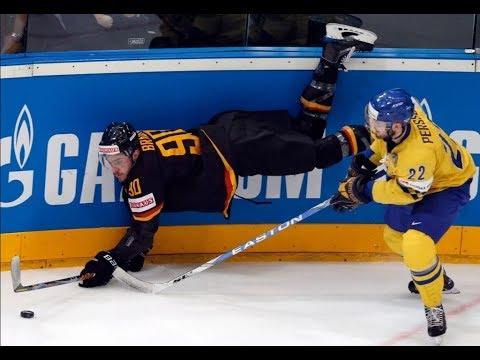 Германия - Швеция 4 - 3 хокк…
