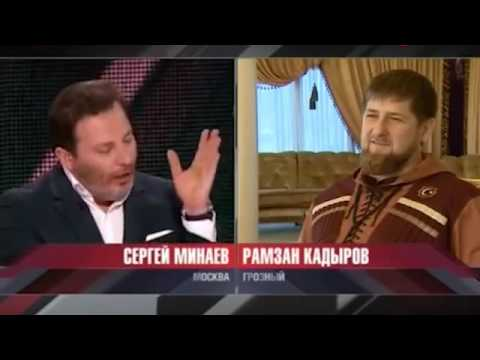 """ВИДЕО: Кадыров орет на Порошенко: """"Если Путин прикажет увезем тебя в Москву!"""""""