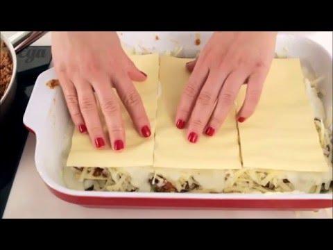 Мясная лазанья простой рецеп…