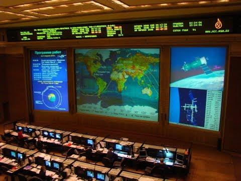 На орбите Земли началась церемония встречи экипажа 55-56-й экспедиции МКС