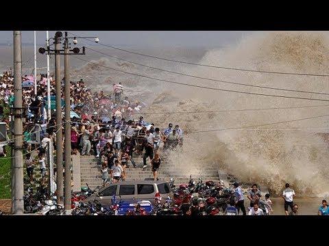 12 самых огромных волн в истории
